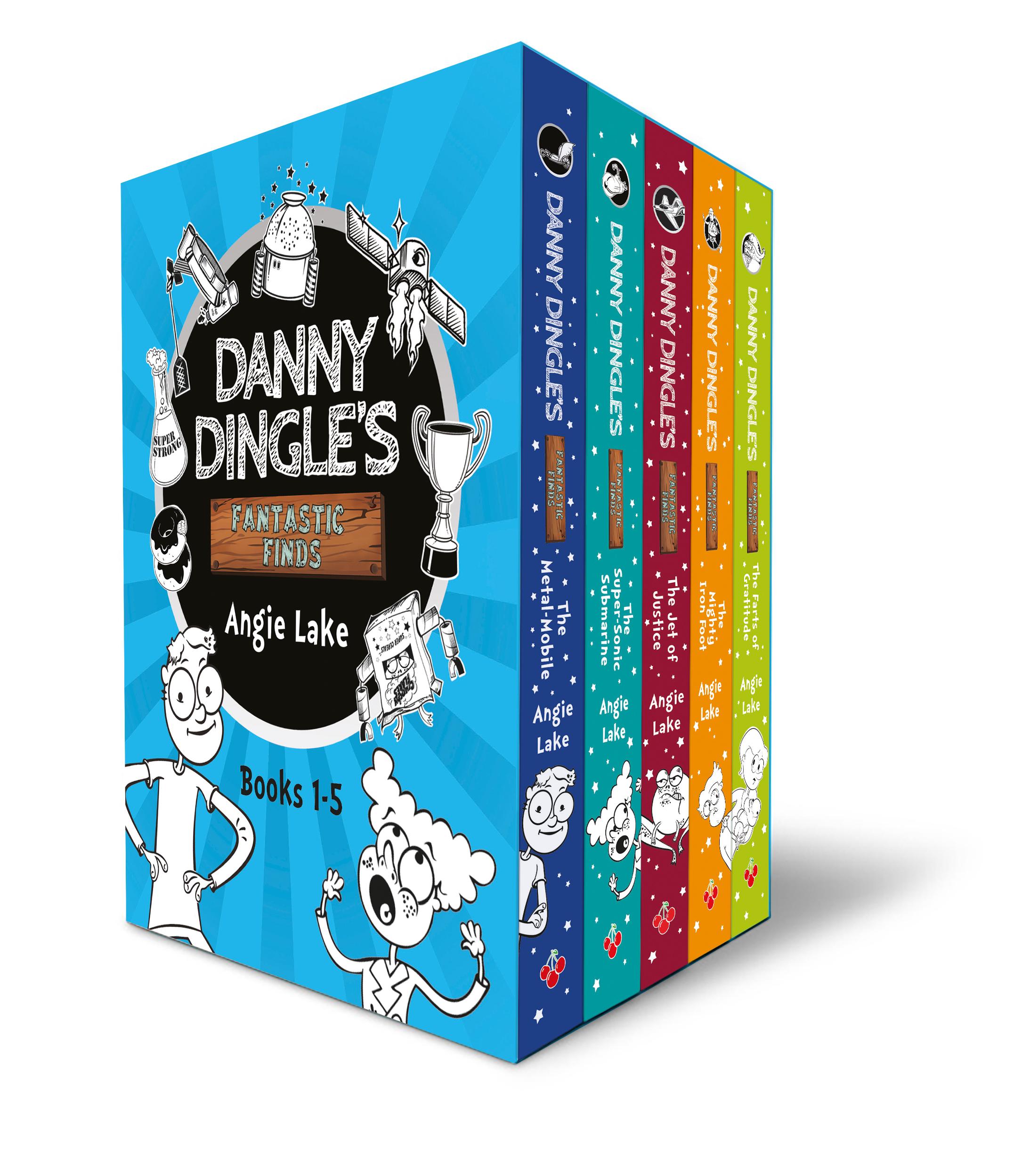 Danny Dingle's Fantastic Finds five book box set